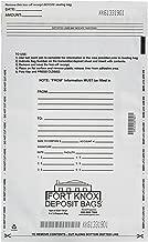 BankSupplies White Deposit Bags (Package of 100 Bags)