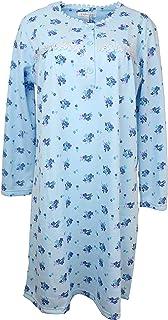 Sindrella Women's Fleece Nightgown, Cotton Blend,