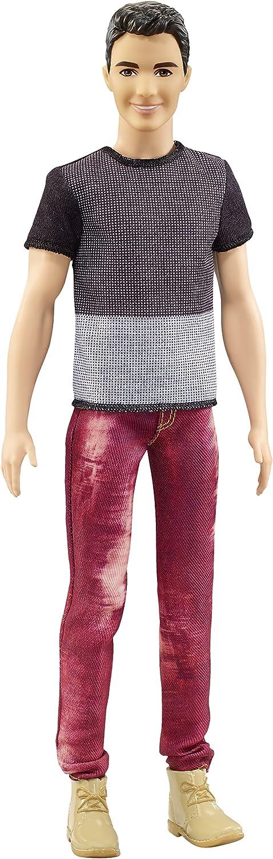 Barbie–dwk47–Puppe–Ken Fashionistas Stil Nummer 6