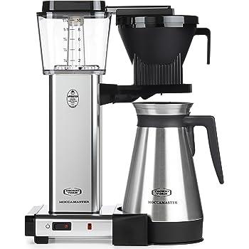 Technivorm 79312 KBGT Coffee Brewer, 40 oz, Polished Silver