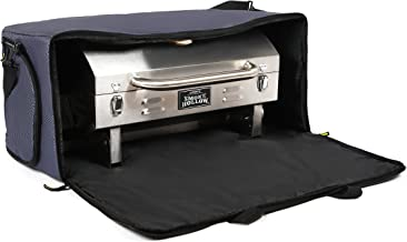 Grill Carry Bag for Smoke Hollow - Storage Case Cover for Smoke Hollow 205 PT300B Tabletop Gas BBQ and Cuisinart CGG-306 Portable Grill - Pockets for Propane & Accessories - Heavy Duty & Weatherproof