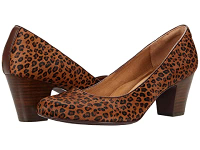 Sofft Myka (Cognac/Mini Leopard Horse Hair) Women