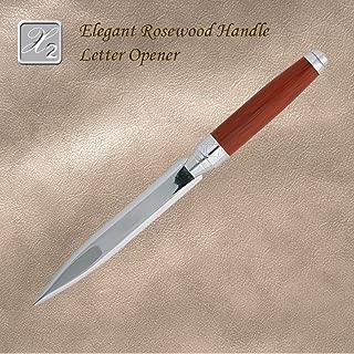 Elegant Luxury Rosewood Handle Letter Opener