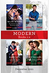 Modern Box Set 1-4 Dec 2021/A Contract for His Runaway Bride/The Innocent's Protector in Paradise/Crowned for His Christmas Baby/Desert (The Scandalous Campbell Sisters Book 2) Kindle Edition