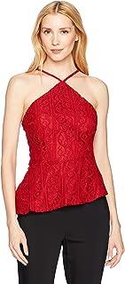 MINKPINK Women's Flamenco Lace Halter Top