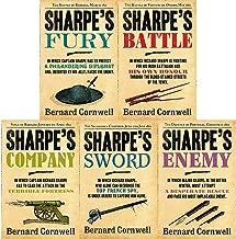 Bernard Cornwell's Richard Sharpe's Series 11 to 15 Books Set (Fury, Battle, Company, Enemy, Sword)