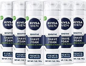 NIVEA Men Sensitive Shaving Foam – Soothes Sensitive Skin From Shave Irritation..