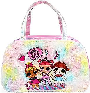 LOL Surprise Fur Rainbow Duffel Bag for Girls
