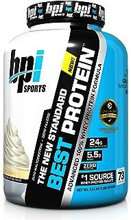 BPI Sports Best Protein, Vanilla Swirl, 5 Pound