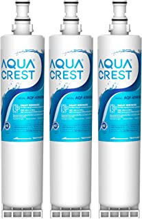AQUACREST 4396508 Refrigerator Water Filter, Compatible with Whirlpool 4396508,  4396510, Filter 5, 46-9010, PUR W10186668, NLC240V, Pack of 3