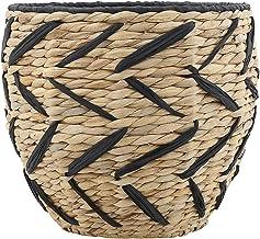 Bloomingville AH0524 Seagrass Basket, Black
