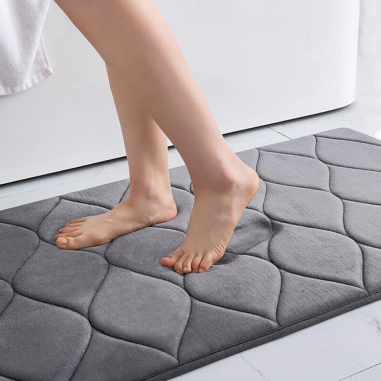 Max 52% OFF Colorxy Memory Limited time cheap sale Foam Bathroom Rugs Ultra Non-Slip Bath Ma Soft