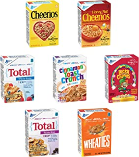 General Mills Assorted Family Cereal, 70-Count Single Packs (Pack of 70)