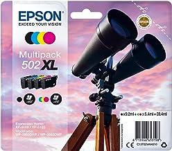 Epson binoculars multipack 4-colours 502xl black 9.2ml - cmy 6.4ml (C13T02W64020)