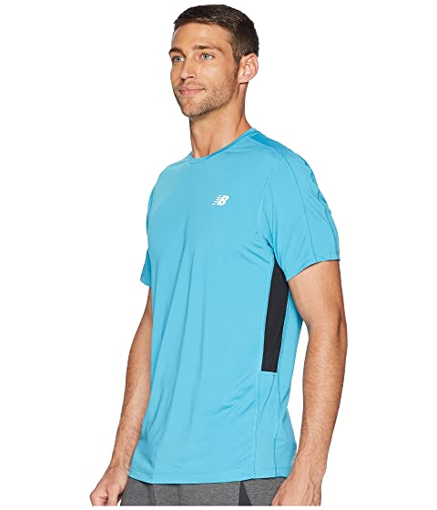 New Sleeve Short New Balance Accelerate Balance avOpqO