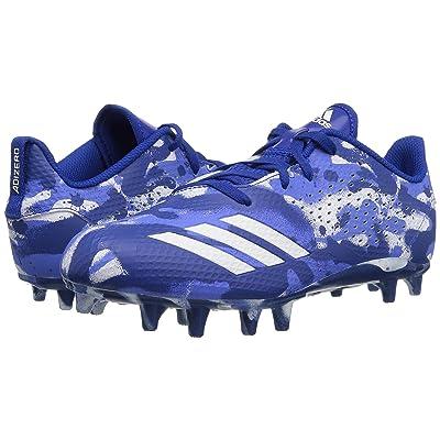 adidas Kids Adizero 5 Star 7.0 Football (Little Kid/Big Kid) (White/Royal/Blue) Boys Shoes