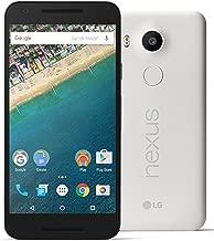 LG Google Nexus 5X H798 32GB Factory Unlocked GSM 4G LTE Hexa-Core Android Smartphone w/ 12.3MP Camera - Quartz/White