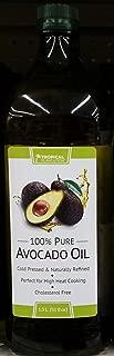 Tropical Plantation 100% Pure Avocado Oil 1.5 L (Pack of 2)
