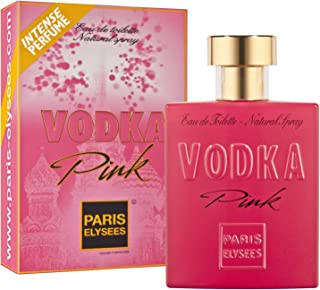 VODKA Pink Perfume para mujer Paris Elysees 100 ml vaporizador Chipre - Floral