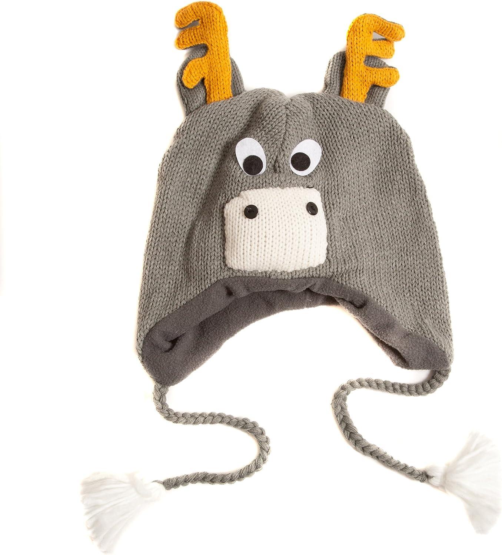 Accessoryo Women's Reindeer Antlers Nepal Hat