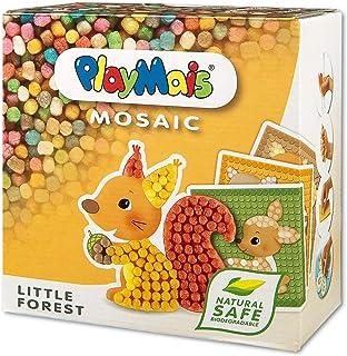 PlayMais Mosaic Little Forest kit de Loisirs créatifs pour Fille et garçon de 3 Ans + | 2300+ pièces & 6 modèles de mosaïq...