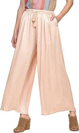 Glamorous Women's Wide Leg Culotte Cropped Pants