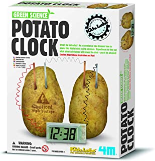 4M Green Science Potato Clock, 8+ Years