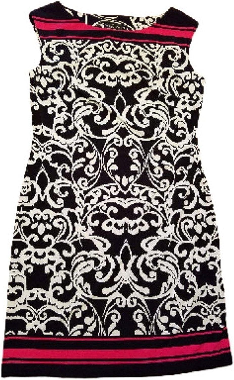 Jessica Howard Women's Size Medium Sleeveless Maxi Dress Black