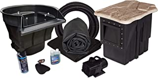 fish pond fountain kit