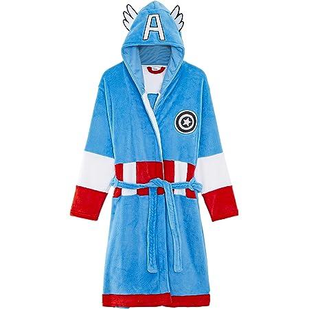 Marvel Bata Hombre Forro Polar con Capucha Superhéroes ...