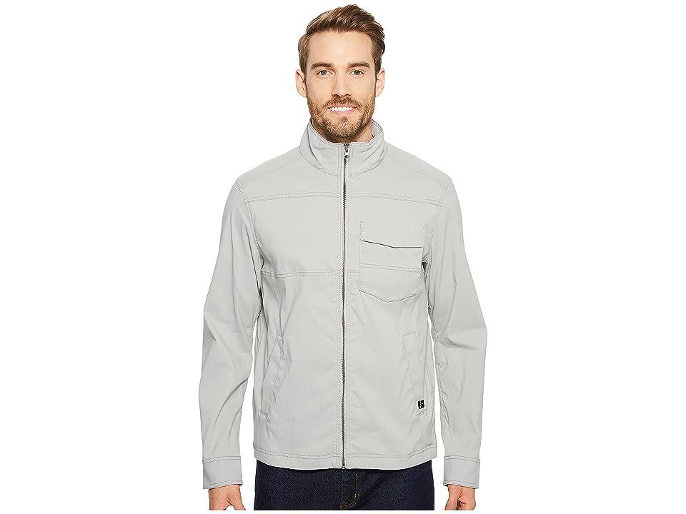 Prana Zion Jacket (Grey) Men