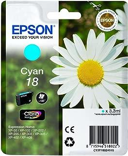 Epson 18 Ink Cartridge Cyan