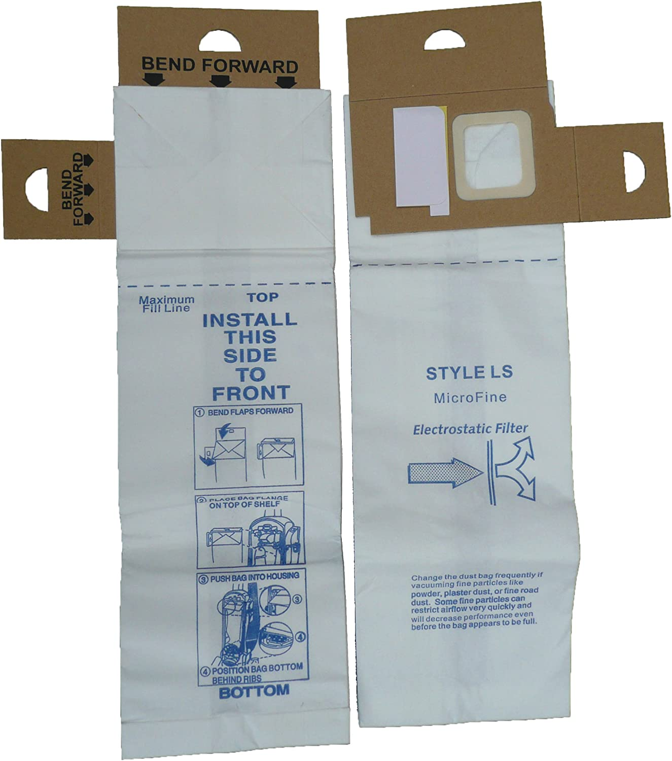 EnviroCare Replacement Vacuum Bags for Eureka LS 5 Albuquerque Mall 5700 Type Reservation and