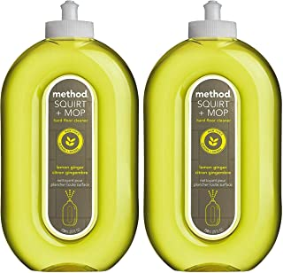 Method Squirt & Mop Hard Floor Cleaner - Lemon Ginger - 25 oz - 2 pk