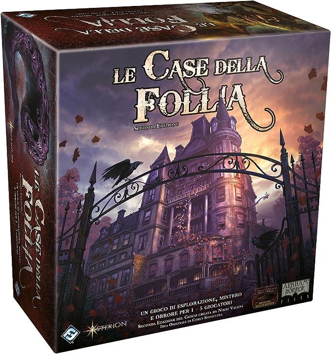 Le case della follia 2a edizione, gioco da tavolo, 9400  asmodee