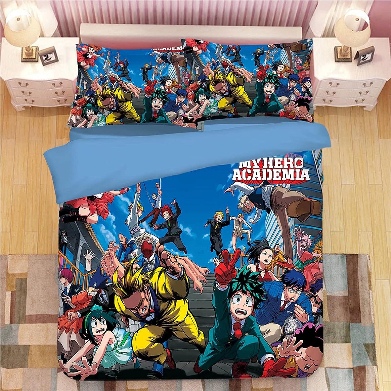 DHSPKN Anime Bedding Sheet Pillow Cover Izuku Quilt service lowest price P Deku