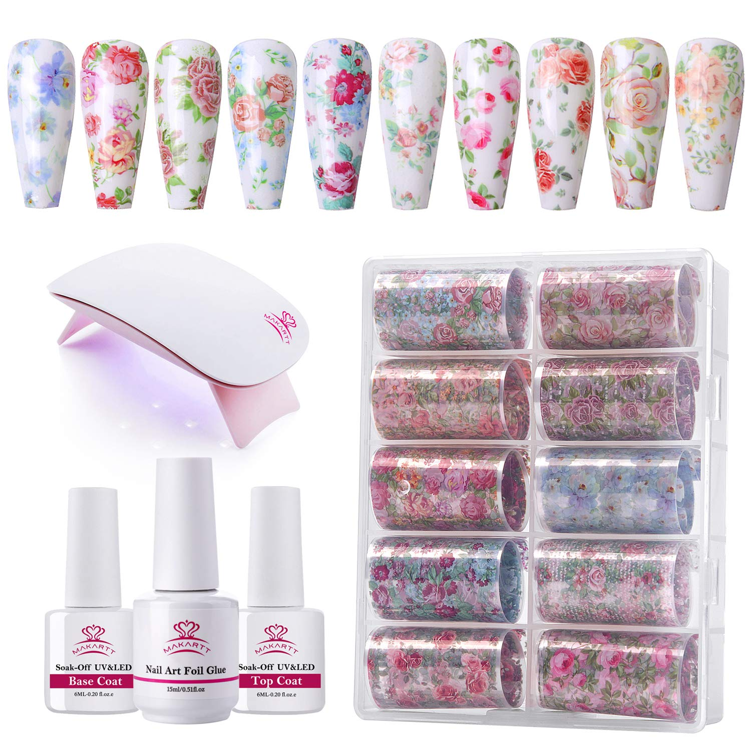 Makartt Nail Art Foil Glue Gel for Stickers Mesa Mall with Led Colorado Springs Mall L Mini