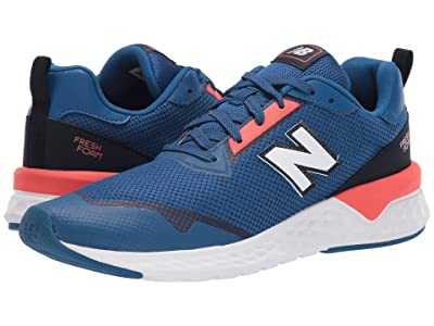 New Balance Classics MS515v2 (Andromeda Blue/Coral Glow) Men