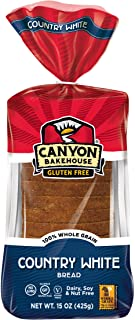 CANYON BAKEHOUSE Country White Gluten-Free Bread - Case of 6 Loaves