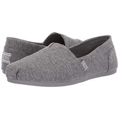 BOBS from SKECHERS Bobs Plush Pretty Mess (Gray Multi) Women