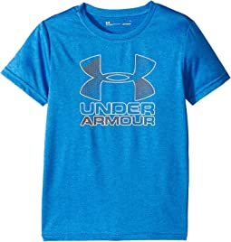 Under Armour Kids - Big Logo Hybrid Tee (Little Kids/Big Kids)