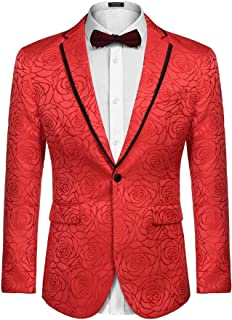 Best red and white blazer mens Reviews