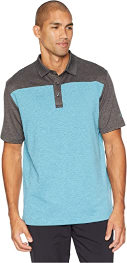 Extra-Soft Heather Color Block Polo