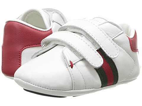 e07fa0dfd7b Gucci Kids Baby Ace V.L. Sneakers (Infant Toddler) at Luxury.Zappos.com