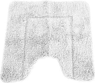 (メイフェア) Mayfair カシミアタッチ マイクロファイバー トイレマット バスルームマット (50x50cm) (クリーム)