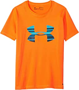 UA Stripe Big Logo Surf Shirt (Little Kids/Big Kids)