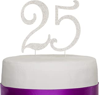 Best 25th wedding anniversary cake toppers Reviews