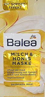 Balea Melk- en honings behandeling, verpakking van 10 stuks, voor 20 toepassingen
