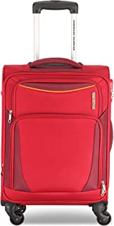 American Tourister Portland Softside Spinner Luggage Trolley 79cm with TSA Lock - Red