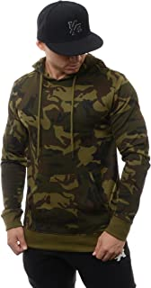 Hoodies for Men Pullovers Sweatshirts Plain with Pockets 509